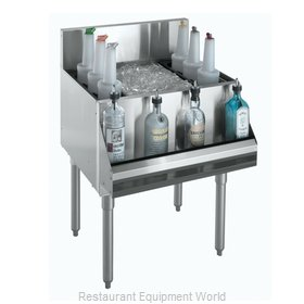 Krowne KR18-18-7 Underbar Ice Bin/Cocktail Unit
