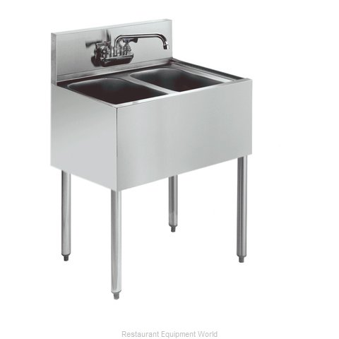 Krowne KR18-22C Royal Two Compartment Bar Sink