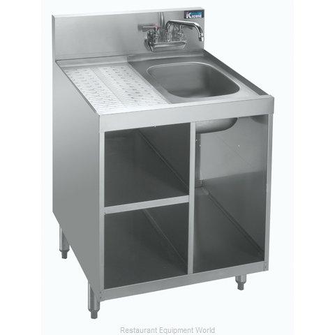 Krowne KR18-24SC Underbar Waste Cabinet, Wet & Dry