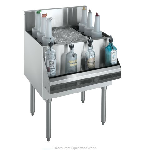 Krowne KR18-30DP Underbar Ice Bin/Cocktail Unit