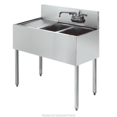 Krowne KR18-32R Royal Two Compartment Bar Sink