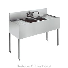 Krowne KR18-42C Royal Two Compartment Bar Sink