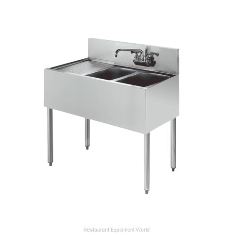 Krowne KR18-42R Royal Two Compartment Bar Sink