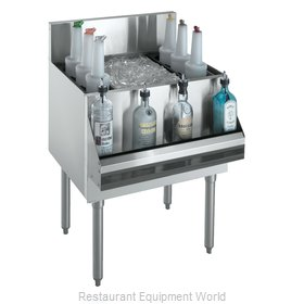 Krowne KR18-48DP-10 Underbar Ice Bin/Cocktail Unit
