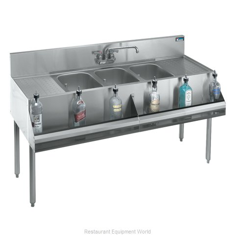 Krowne KR18-53C Underbar Sink Units (Magnified)