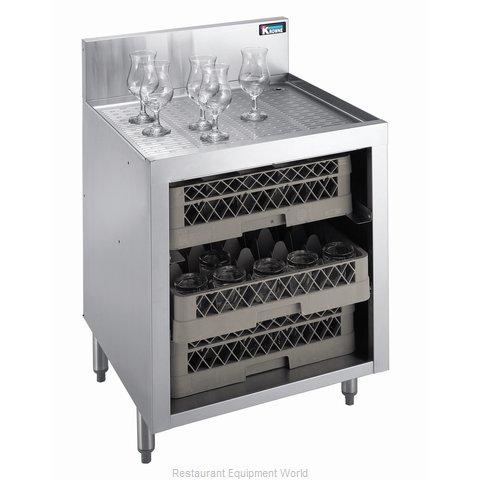 Krowne KR18-GSB1 Underbar Glass Rack Storage Unit