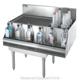Krowne KR18-M36L-10 Underbar Ice Bin/Cocktail Station, Bottle Well Bin