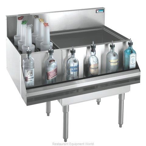 Krowne KR18-M36R Underbar Ice Bin/Cocktail Station, Bottle Well Bin