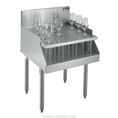 Krowne KR18-RG18 1800 Series Royal Recessed Drainboard