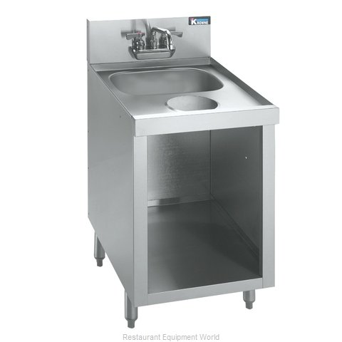 Krowne KR18-SD18C Underbar Hand Sink Unit (Magnified)