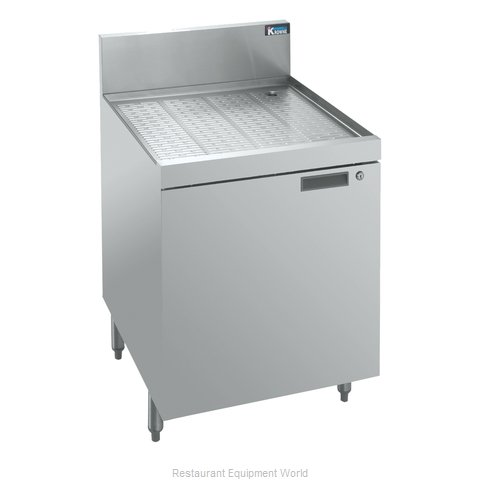 Krowne KR18-SD24 1800 Series Royal Storage Cabinets Drainboard top wit (Magnified)