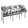 Krowne KR18-W72A-10 Underbar Ice Bin/Cocktail Station, Blender Station