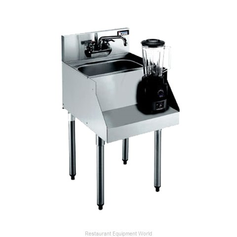 Krowne KR21-12BD Royal Blender Station Dump Sink