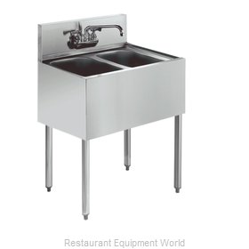 Krowne KR21-22C Royal Two Compartment Bar Sink