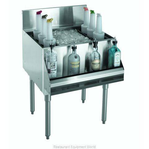 Krowne KR21-24DP-10 Underbar Ice Bin/Cocktail Unit