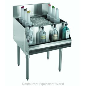 Krowne KR21-24DP-10 Underbar Ice Bin/Cocktail Unit