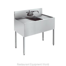Krowne KR21-31C Royal One Compartment Bar Sink