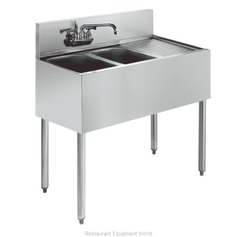 Krowne KR21-32L Royal Two Compartment Bar Sink