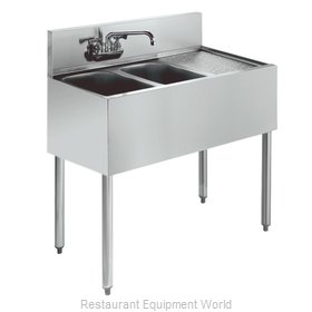Krowne KR21-42L Royal Two Compartment Bar Sink