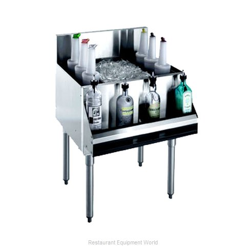 Krowne KR21-48-10 Underbar Ice Bin/Cocktail Unit