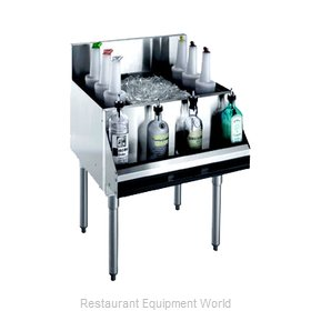 Krowne KR21-48DP-10 Underbar Ice Bin/Cocktail Unit