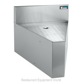 Krowne KR21-DR45 2100 Series Royal Rear Corner Drainboard