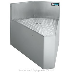 Krowne KR21-DRC45 2100 Series Royal Rear Corner Drainboard