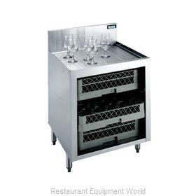 Krowne KR21-GSB1 Underbar Glass Rack Storage Unit