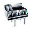 Krowne KR21-M36R-10 Underbar Ice Bin/Cocktail Station, Bottle Well Bin