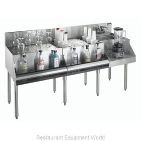 Krowne KR21-W72A-10 Underbar Ice Bin Cocktail Blender Station