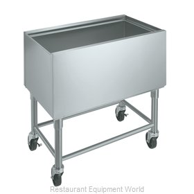 Krowne MB-1830 Ice Bin / Ice Caddy , Mobile