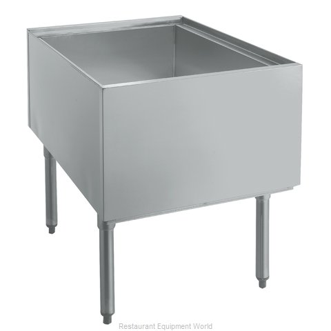 Krowne PT-2436-10 Underbar Ice Bin/Cocktail Station, Pass-Thru