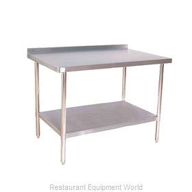 Klinger's Trading Inc. 16G ABST 3060 Work Table,  54
