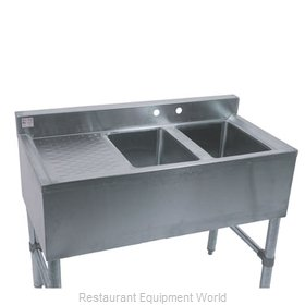 Klinger's Trading Inc. BAR-2-DL Underbar Sink Units