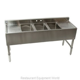 Klinger's Trading Inc. BAR-3-2D Underbar Sink Units