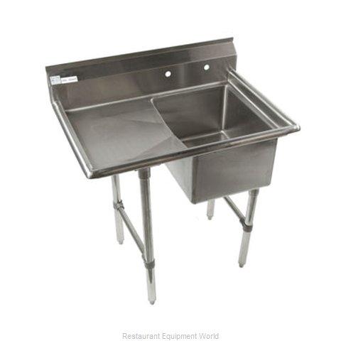 Klinger's Trading Inc. ECS1DL Sink, (1) One Compartment