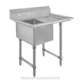 Klinger's Trading Inc. EIT1DR24 Sink, (1) One Compartment