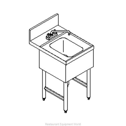 LaCrosse CL18HS Underbar Hand Sink Unit (Magnified)