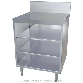 LaCrosse CL24GR-DB Underbar Glass Rack Storage Unit