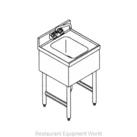 LaCrosse SD18HS Underbar Hand Sink Unit