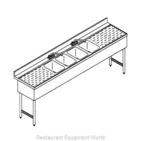 LaCrosse SD84C Underbar Sink Units