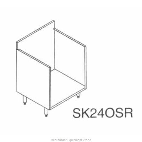 LaCrosse SK24OSR Underbar Glass Rack Storage Unit