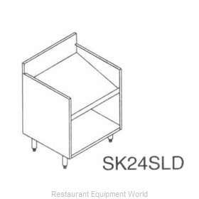 LaCrosse SK24SLD Underbar Bottle Display Unit