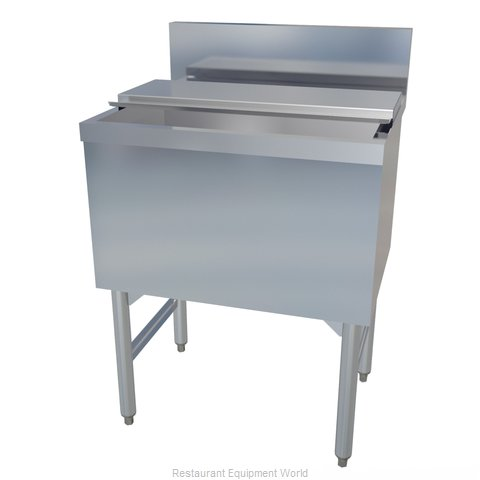 LaCrosse SK48IC Underbar Ice Bin Cocktail Station