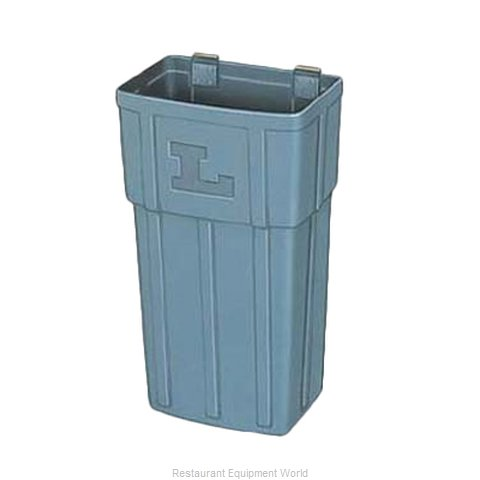 Lakeside 206-4 Trash Can For Bus Cart