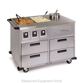 Lakeside 6745 Serving Counter, Hot Food, Electric