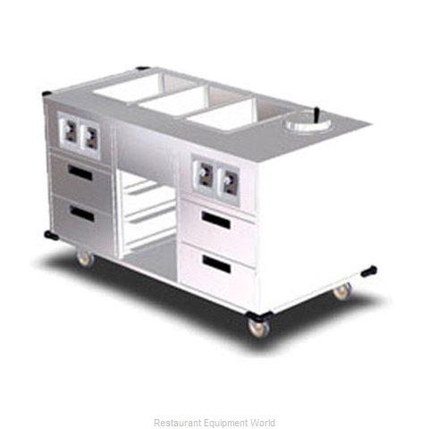 Lakeside 6750 Serving Counter, Hot Food, Electric