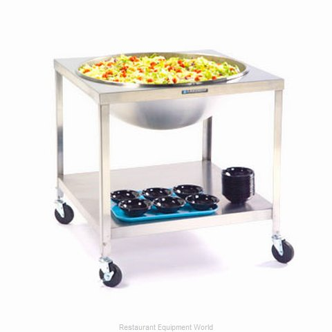 Lakeside 713 Mixing Bowl Mobile Rack Dolly