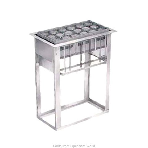 Lakeside 973 Dispensers, Cup & Glass Rack