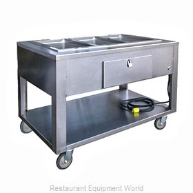 Lakeside PBST3W Serving Counter, Hot Food, Electric